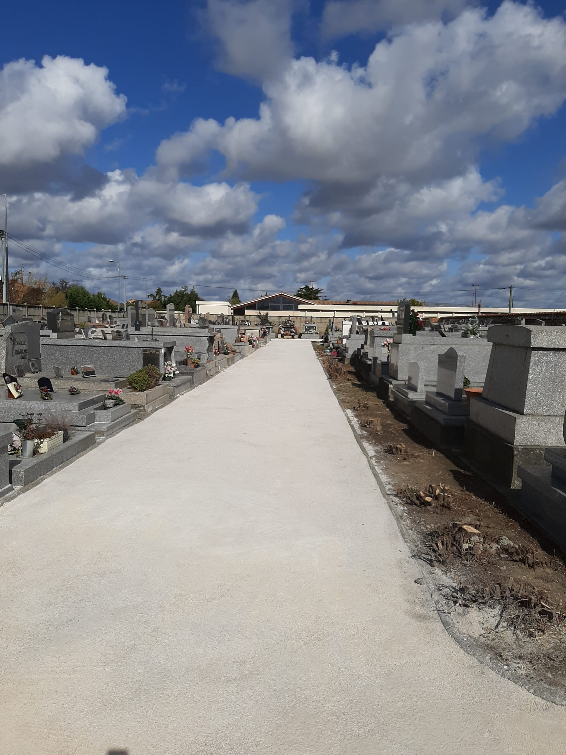Aménagement cimetière
